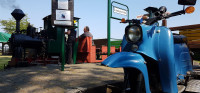 Schienenmoped Fahrtag