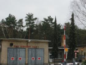 Lokschuppen der Parkeisenbahn Berlin