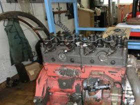 Motor im Teststand