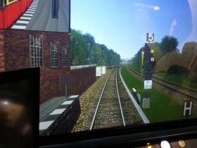 Fahrsimulator der S-Bahn Berlin