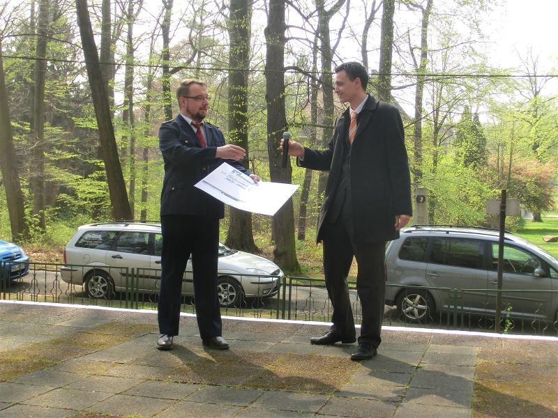 Spende der Volksbank Raiffeisenbank Niederschlesien e.G.