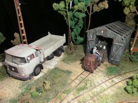 Feldbahnschuppen